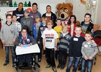 Jørgensen, Bouma en Manolev brachten een bezoek aan het Elkerliek ziekenhuis